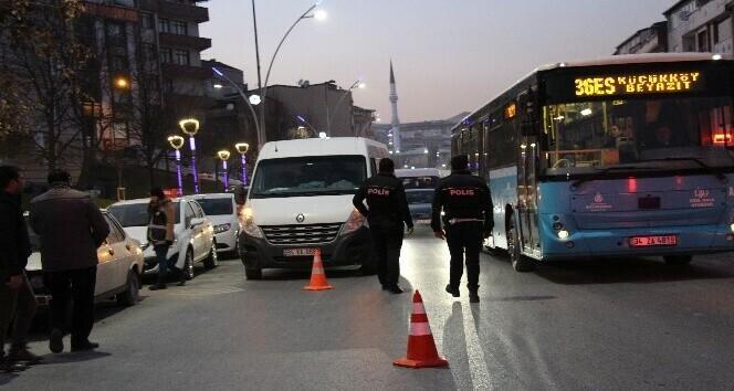 İstanbul polisi yabancı şahıslara yönelik uygulama yaptı