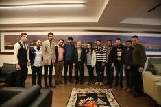 CHP KARTAL GENÇLİK KOLLARI'NDAN BAŞKAN ALTINOK ÖZ'E TEŞEKKÜR