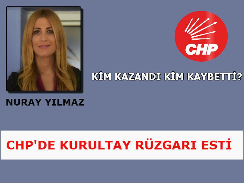 CHP'DE KURULTAY RÜZGARI ESTİ