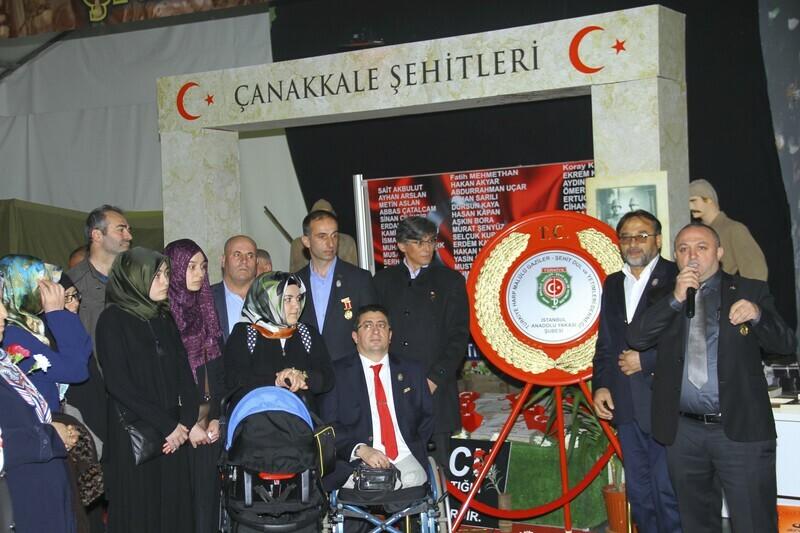 """ÇANAKKALE SAVAŞ MALZEMELERİ MÜZESİ'NDE """"18 MART ZAFERİ"""" ANILDI"""