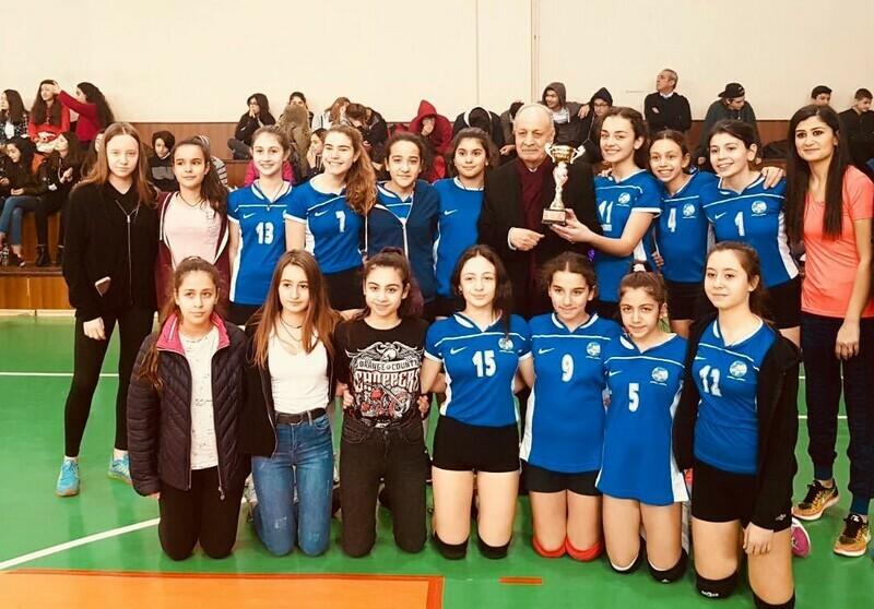 Ahmet Şimşek Koleji'nin gururu oldular.