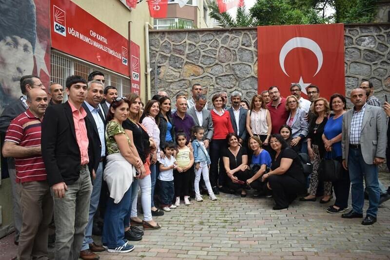 """""""Kaftancıoğlu; Kartal'a Teşekkür  Etmeye Geldim"""""""
