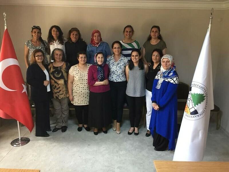 """""""Erzincan Refahiye Dernekler Federasyonu Kadın Kolları İlk Toplantısını Gerçekleştirdi."""""""