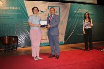 """Kadıköy Belediyesi'ne """"Yılın Kültür Şehri"""" Ödülü"""