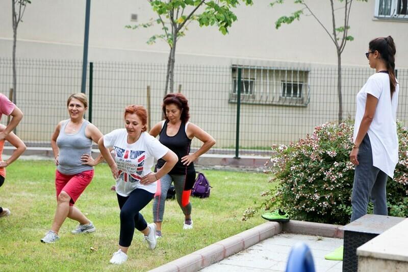 Maltepeliler güne sabah sporuyla başlıyor