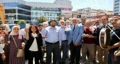 Kağıthaneli esnaf ve iş adamlarından Cumhurbaşkanı Erdoğan'ın dolar çağrısına destek
