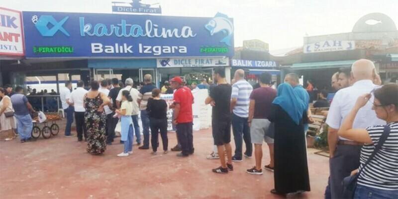 DENİZ MANZARALI KARTA'LİMA' BALIKÇISI KARTAL'DA HİZMETİNİZDE