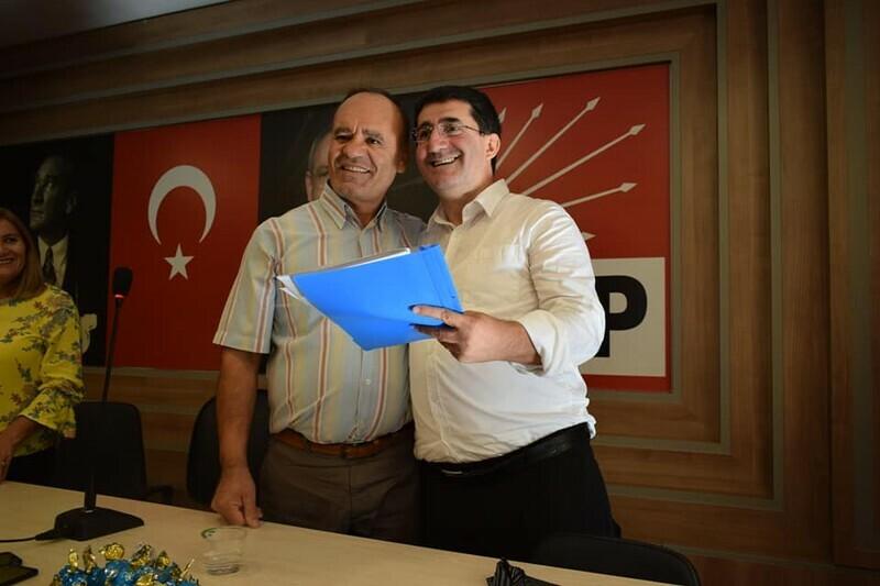 Erol Altınoğlu ;Kartal Belediye Başkan Aday Adaylık Başvurusunu Yaptı