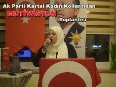 Ak Parti Kartal Kadın Kollarından MOTİVASYON toplantısı