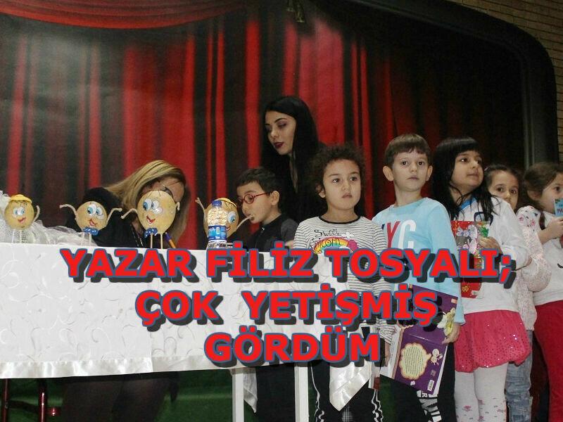 """Yazar Filiz Tosyalı; """"Çok iyi yetişmiş öğrenciler gördüm."""""""