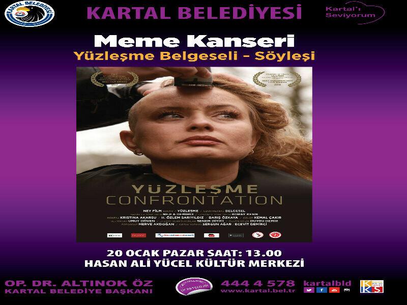 KARTAL BELEDİYESİ'NDEN MEME KANSERİYLE YÜZLEŞME BELGESELİ