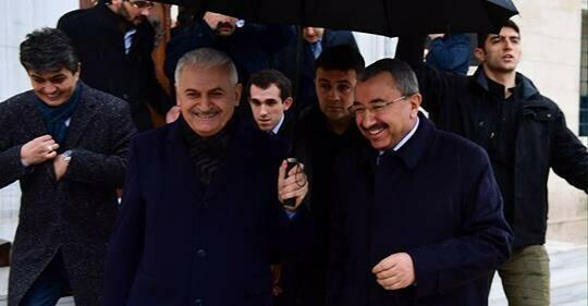 TBMM Başkanı Binali Yıldırım Ataşehir'e Geldi