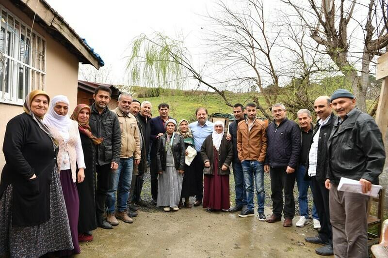 Erzincanlı aileden Başkan Ali Kılıç'a destek
