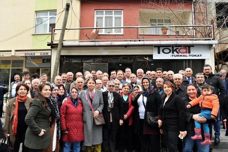 Başkan Ali Kılıç Tokatlılarla buluştu