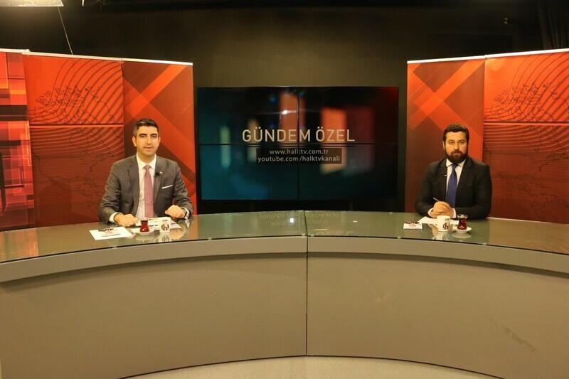 Gökhan Yüksel, Halk TV canlı yayınına konuk oldu