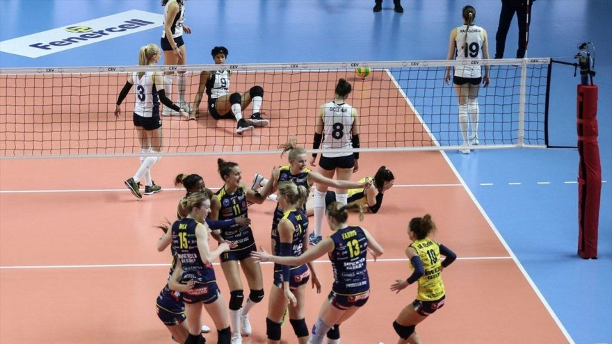 Fenerbahçe Opet: 0 – Imoco Volley: 3