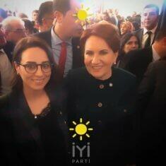 """Gebze Kadın Kolları Başkanlığına """"İYİ"""" Başkan"""