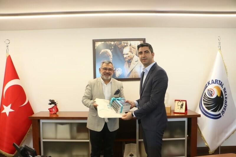 Rektör Peyami Çelikcan'dan Başkan Gökhan Yüksel'e Tebrik Ziyareti