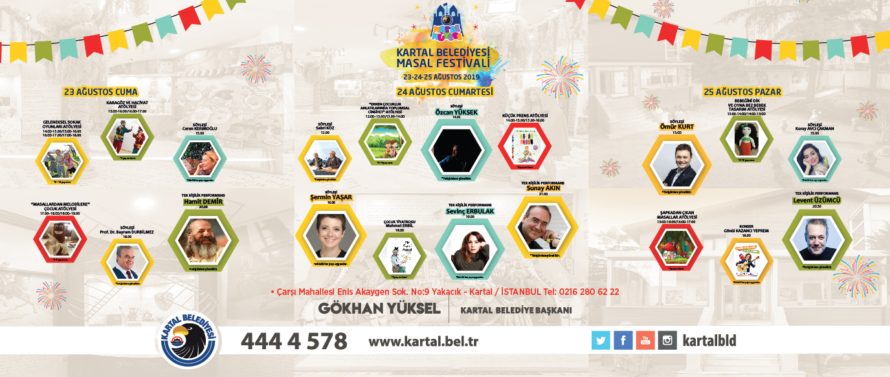 KARTAL BELEDİYESİ'NDEN MASAL GİBİ BİR FESTİVAL