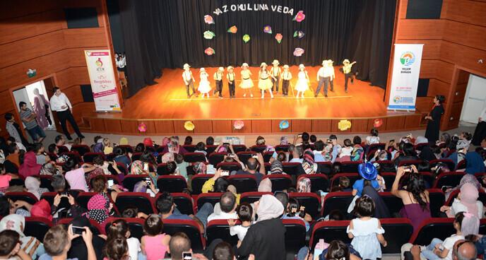 Tuzla Belediyesi Anne Çocuk Eğitim Merkezi Yaz Okulu Kapanış Programı İle Sona Erdi