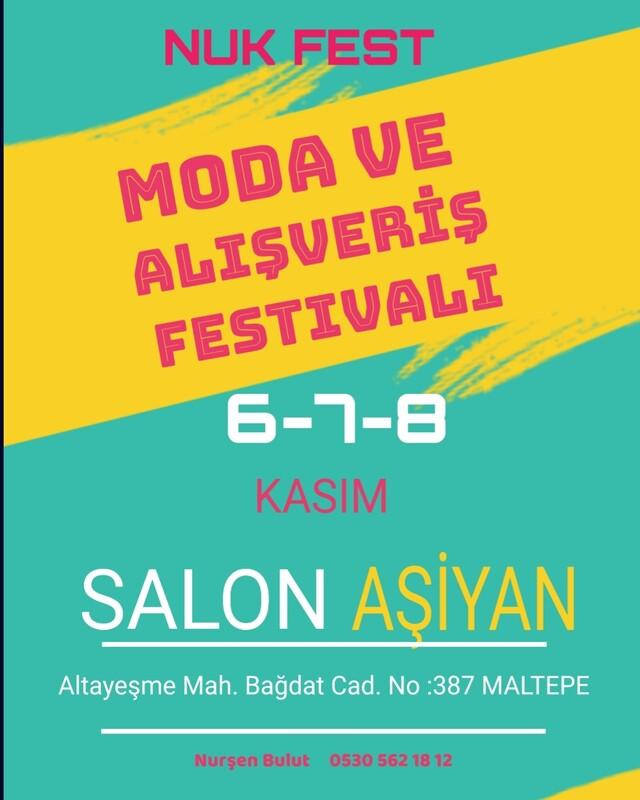 Ayra Butik NUK Fest Moda ve Alışveriş Festivali'nde Görücüye Çıkıyor