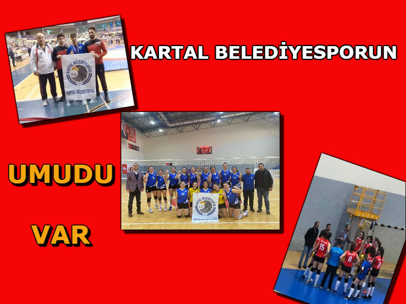 """Kartal Belediyespor'un """"UMUDU"""" var"""