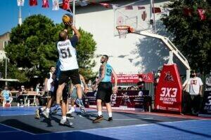 3×3 Sokak Basketbolu Turnuvası nefes kesti