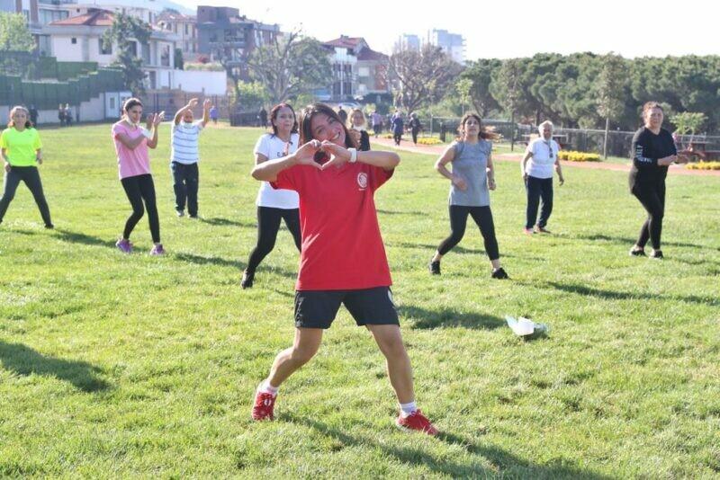 Kartallılar hafta sonuna sporla 'Merhaba' dedi